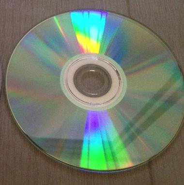 DVD-R表面写真