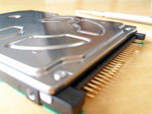 2.5インチのIDE接続HDD
